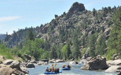 Browns Canyon  Arkansas River Rafting Trip